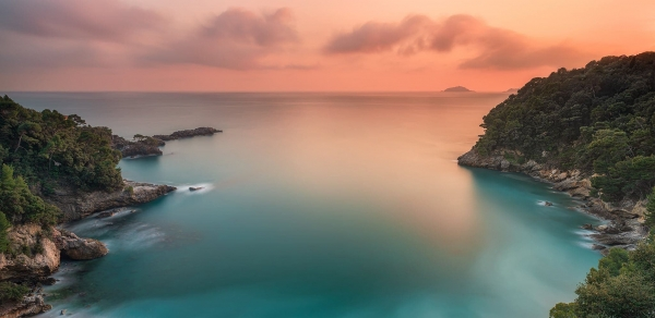 Francesco Gola Italy Italia Lerici Tellaro Eco Mare Fiascherino Long Exposure Seascape Sunset Tramonto Cover
