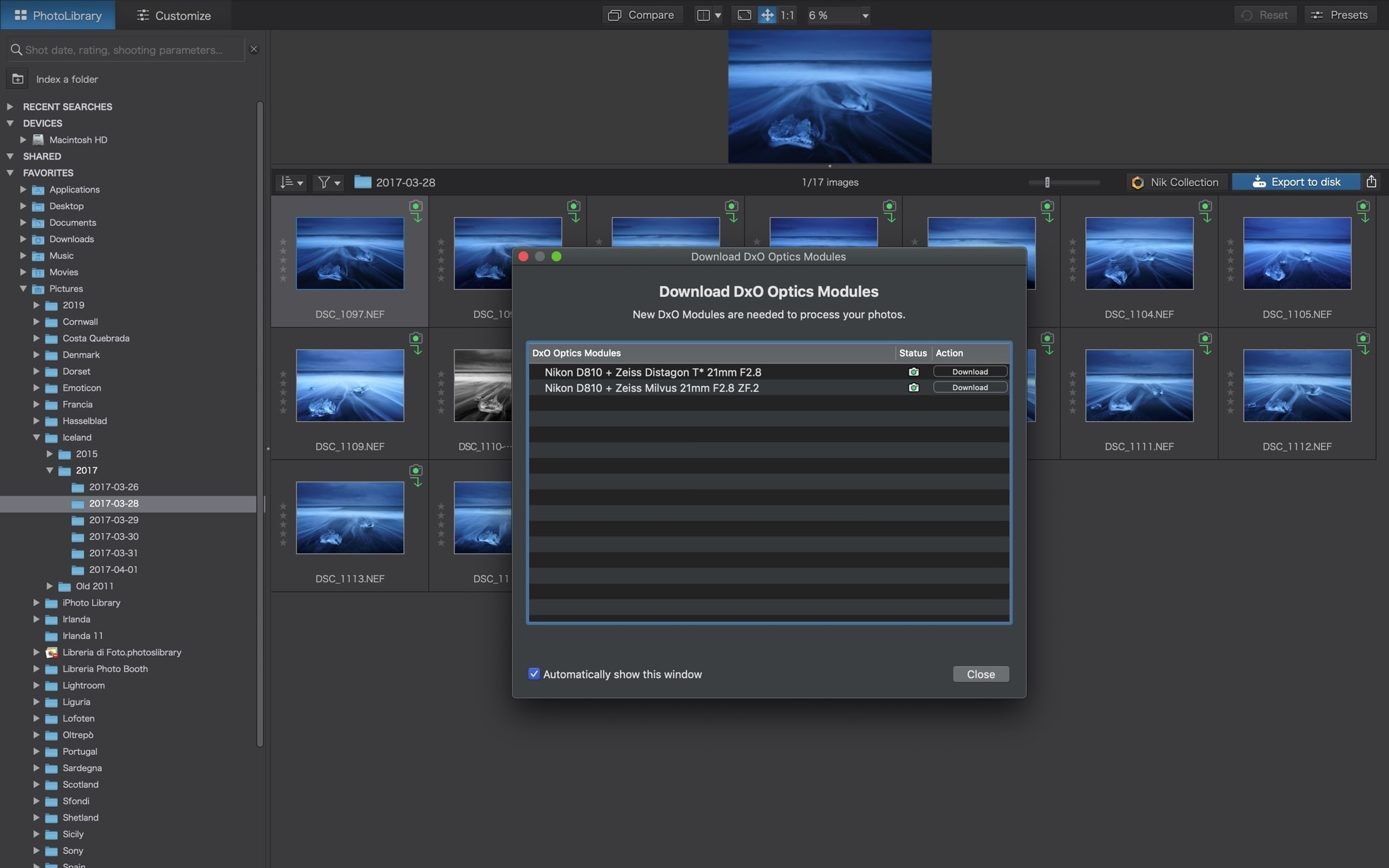 PhotoLab 3optical modules francesco gola review