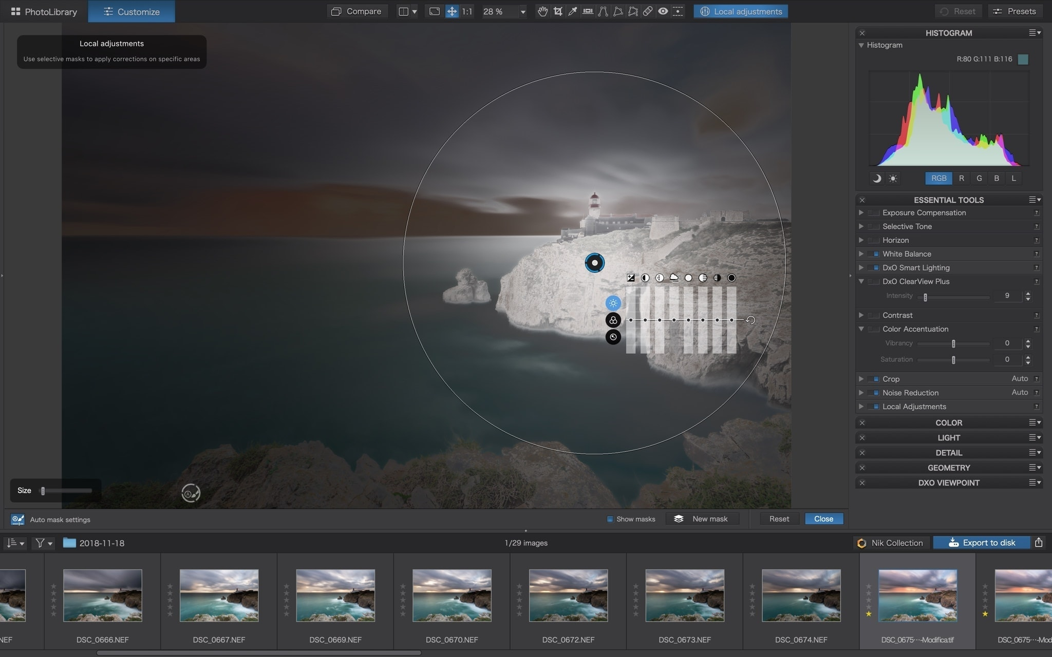 PhotoLab 3 u-point technology francesco gola review