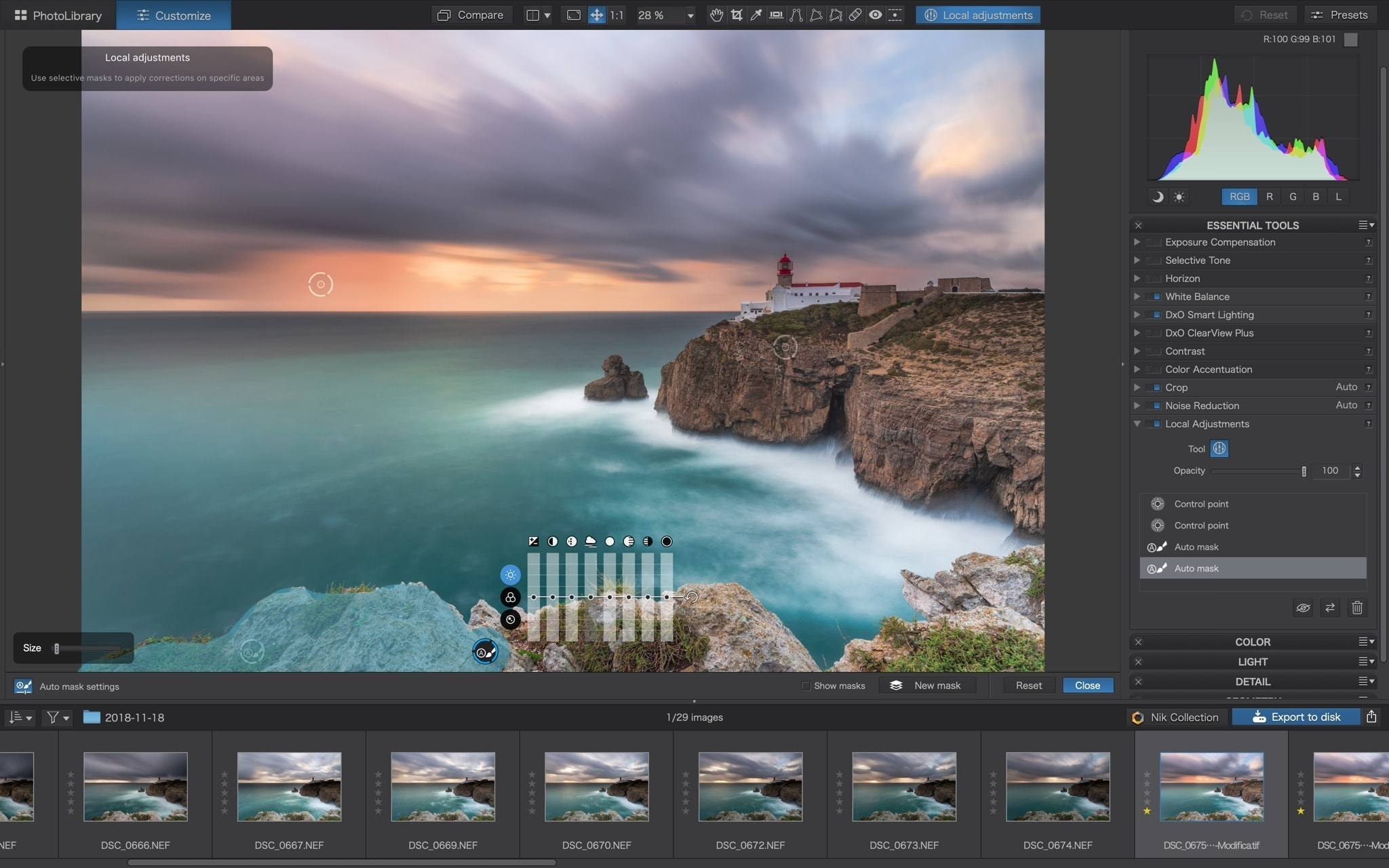 PhotoLab 3 local layers level francesco gola review