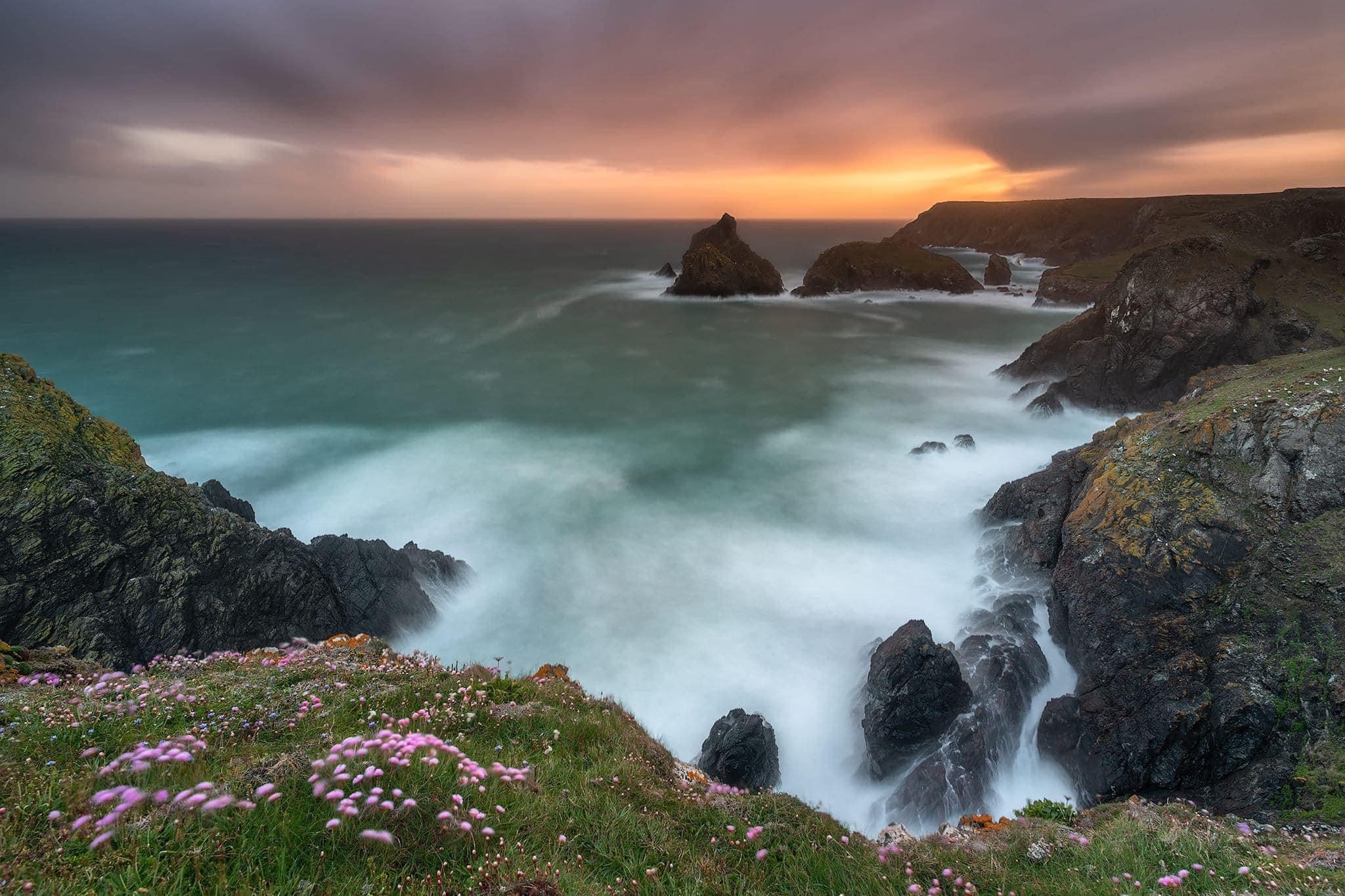 Francesco Gola Seascape Photography Cornwall UK Long Exposure