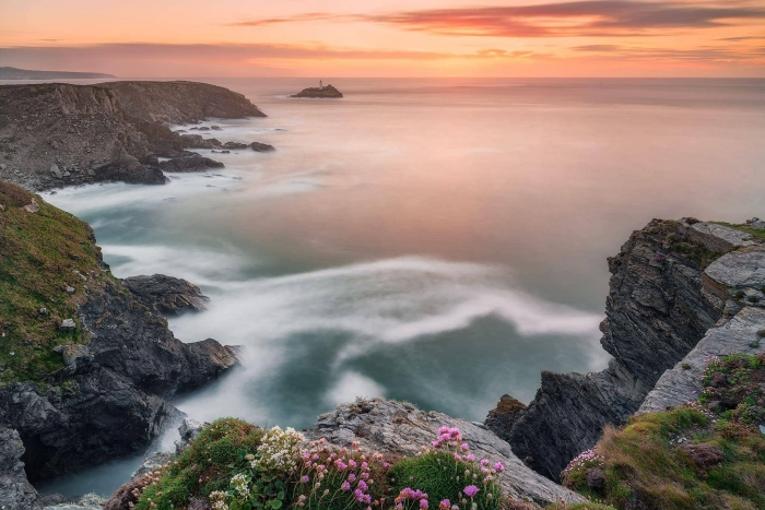 francesco gola landscape seascape long exposure cornwall uk godrevy lighthouse R1