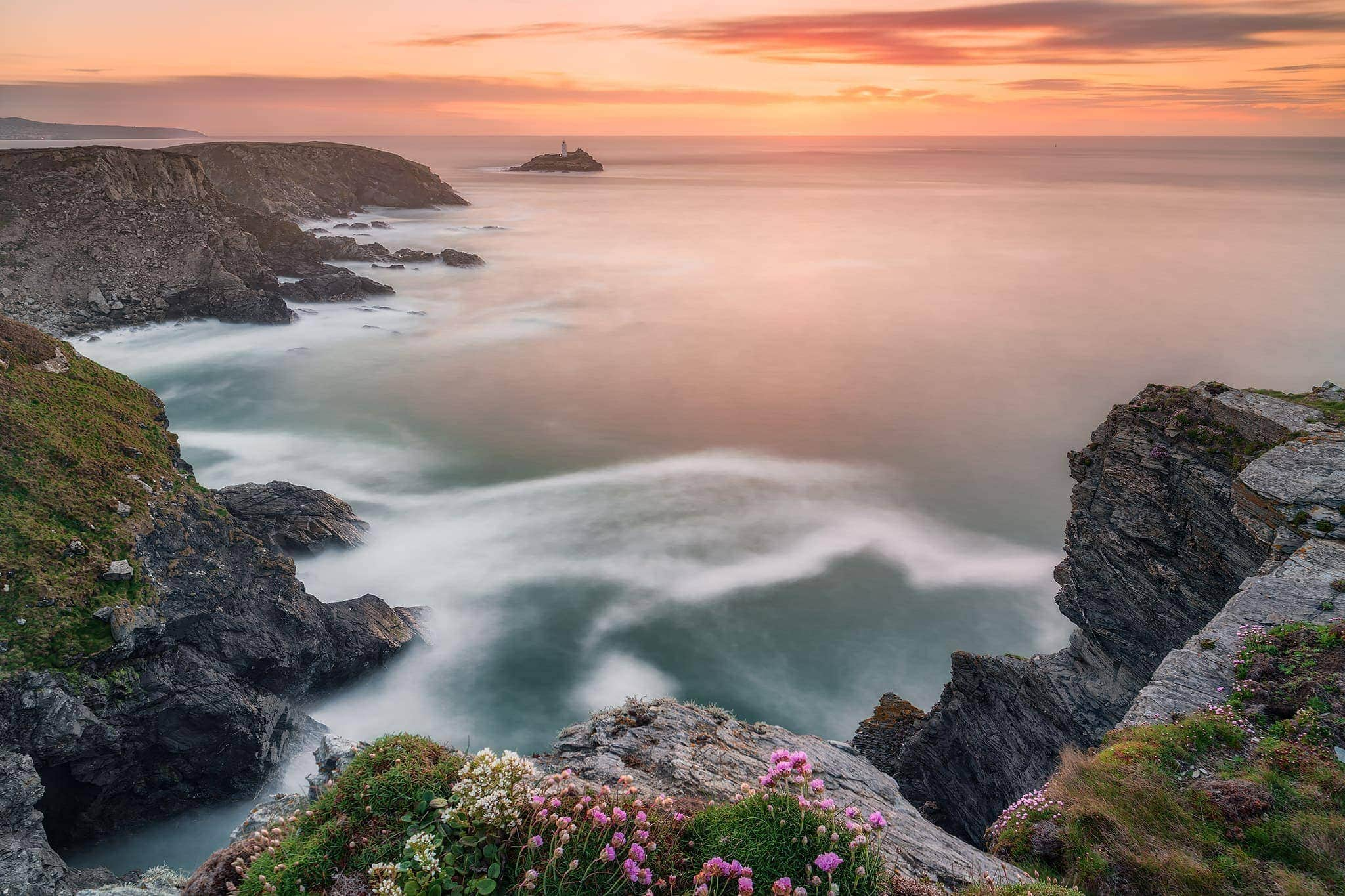 francesco gola landscape seascape long exposure cornwall uk godrevy lighthouse R1