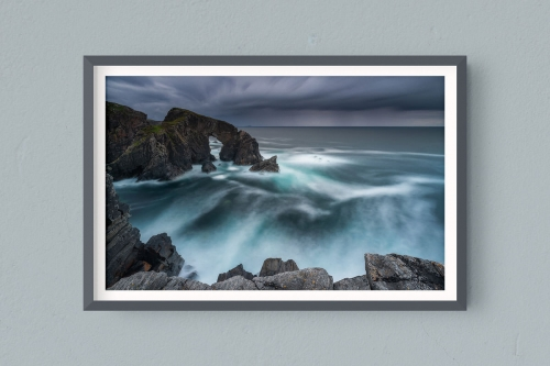 Francesco Gola FineArt Print Stampa A3+ A4 Hahnemühle into the storm uk scotland outer hebrides isle lewiss