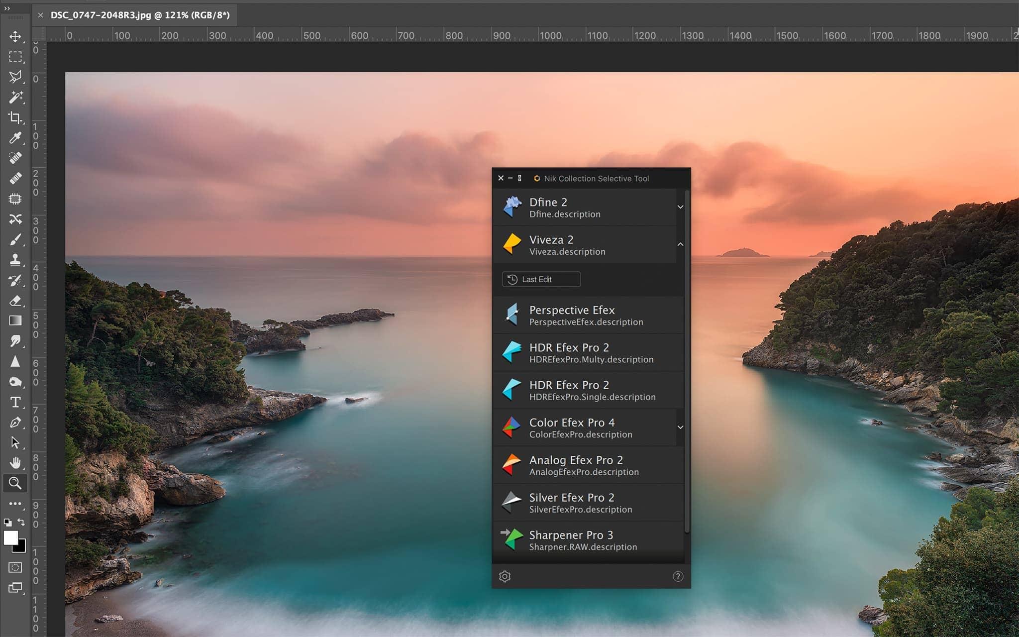 Nik Collection 3 DxO Selective Tool New