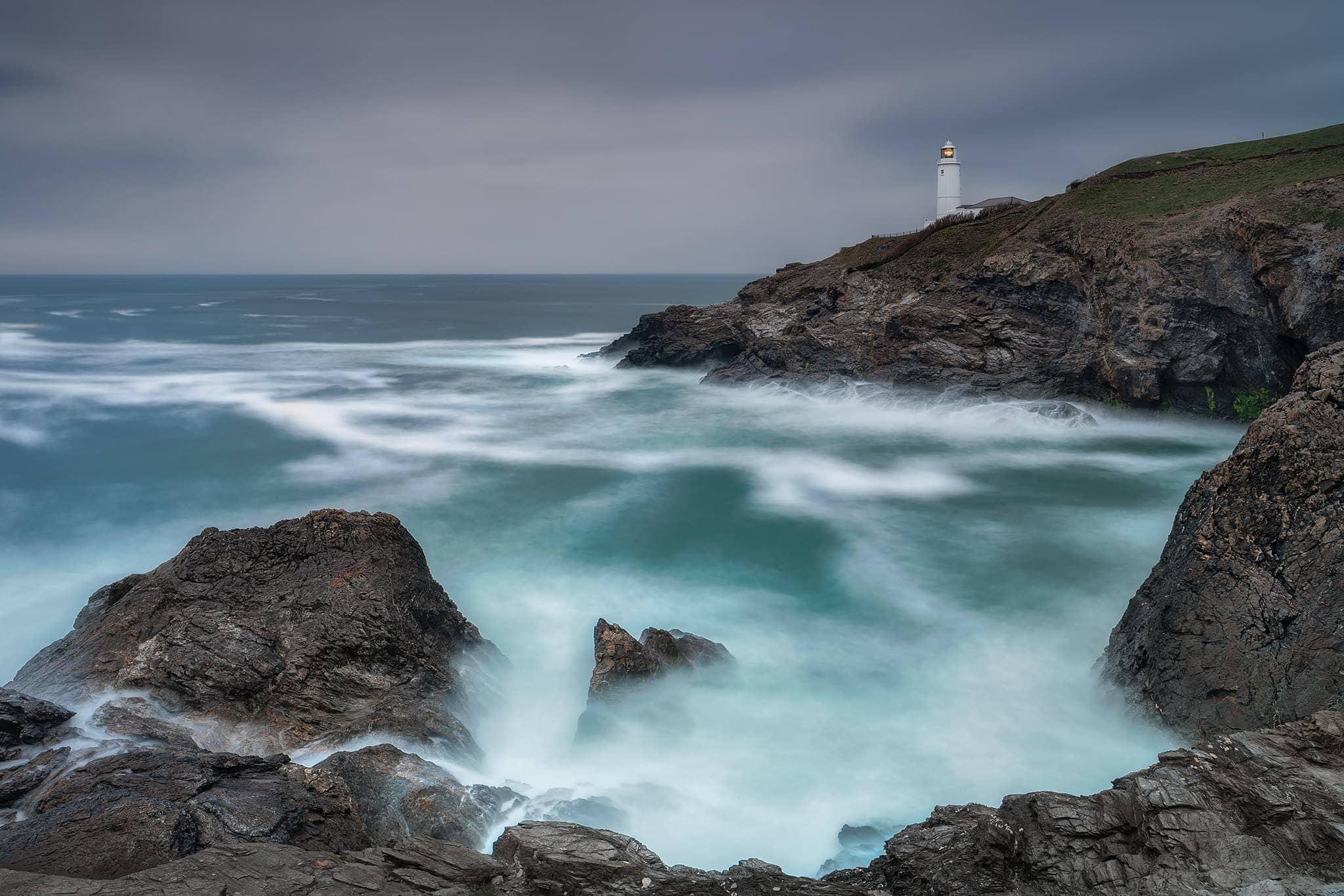 Francesco Gola Seascape Trevose Lighthouse UK Landscape Long Exposure Photography