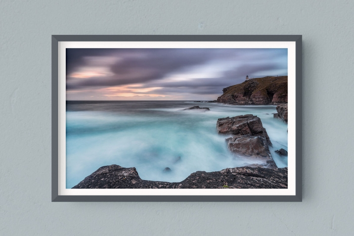 Francesco Gola FineArt Prints Home Interior Design Seascape Landscape Long Exposure Scotland Stoer Lighthouse