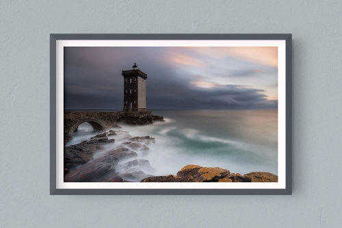 Francesco Gola FineArt Prints Home Interior Design France Conquet Kermorvan Lighthouse Long Exposure Seascape Landscape Bretagne Brittany Storm
