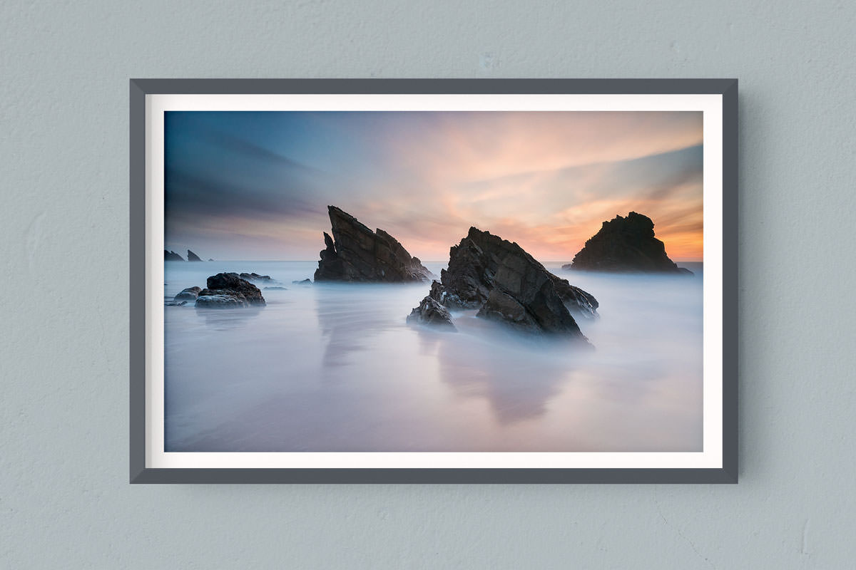Francesco Gola FineArt Prints Home Interior Design Portugal Adraga Praia Beach Lisbon Sintra Long Exposure Seascape Landscape