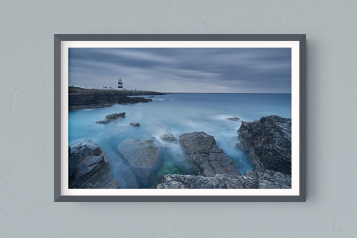 Francesco Gola FineArt Prints Home Interior Design Ireland Hook Lighthouse Long Exposure Seascape Landscape