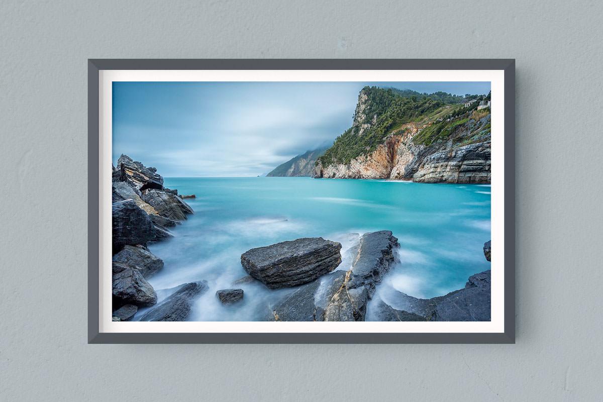 Francesco Gola FineArt Prints Home Interior Design Italy Italia Liguria Portovenere Grotta Byron Long Exposure Seascape Landscape