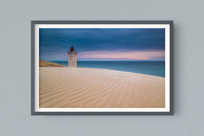 Francesco Gola FineArt Prints Home Interior Design Denmark Rubjerg Knude Long Exposure Seascape Landscape