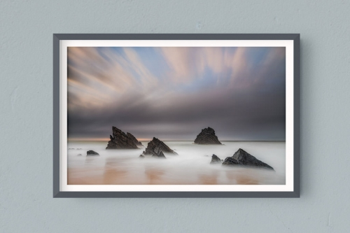Francesco Gola FineArt Prints Home Interior Design Portugal Lisbon Adraga Beach Long Exposure Seascape Landscape