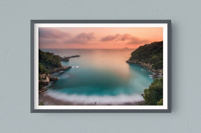 Francesco Gola FineArt Prints Home Interior Design Italy Eco Mare Gulf Poets Sunset Spezia Long Exposure Seascape Landscape