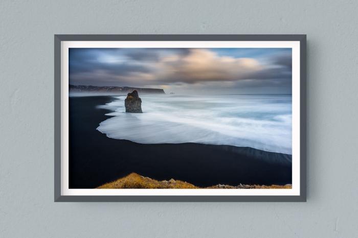 Francesco Gola FineArt Prints Home Interior Design Iceland Vik Long Exposure Seascape Landscape