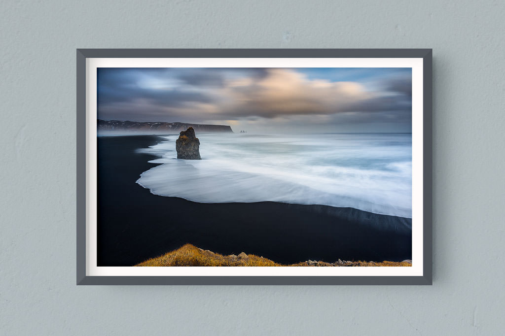Francesco Gola FineArt Prints Home Interior Design Iceland Vik Long Exposure Seascape Landscape