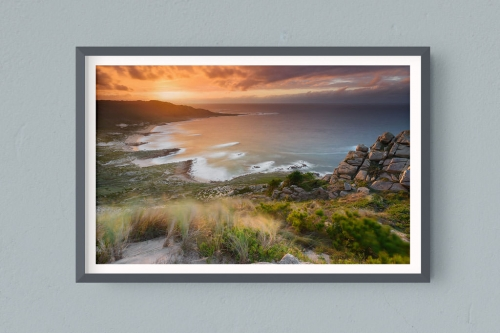 Francesco Gola FineArt Prints Home Interior Design Spain Sunset Long Exposure Seascape Landscape