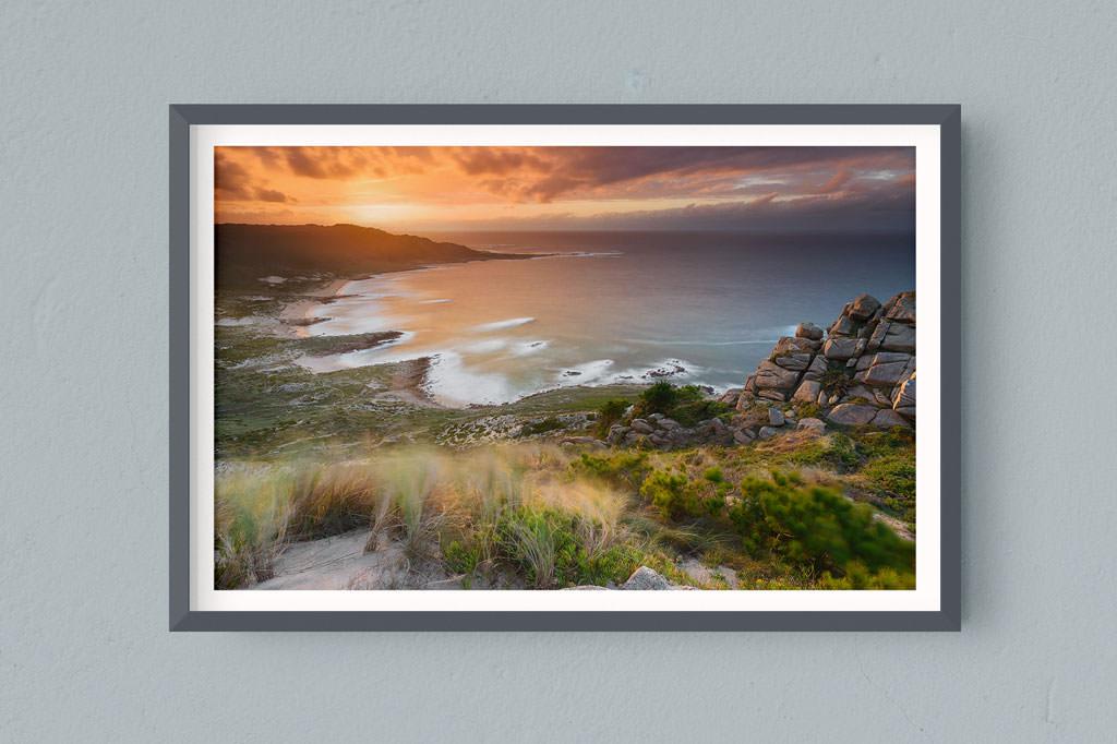 Francesco Gola FineArt Prints Home Interior Design Spain Sunset Long Exposure Seascape Landscape