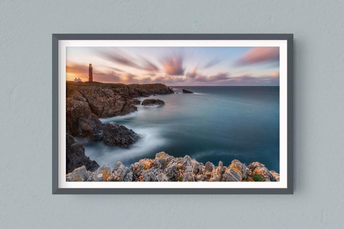 Francesco Gola FineArt Prints Home Interior Design UK Scotland Outer Hebrides Butt Lewiss Long Exposure Seascape Landscape Lighthouse