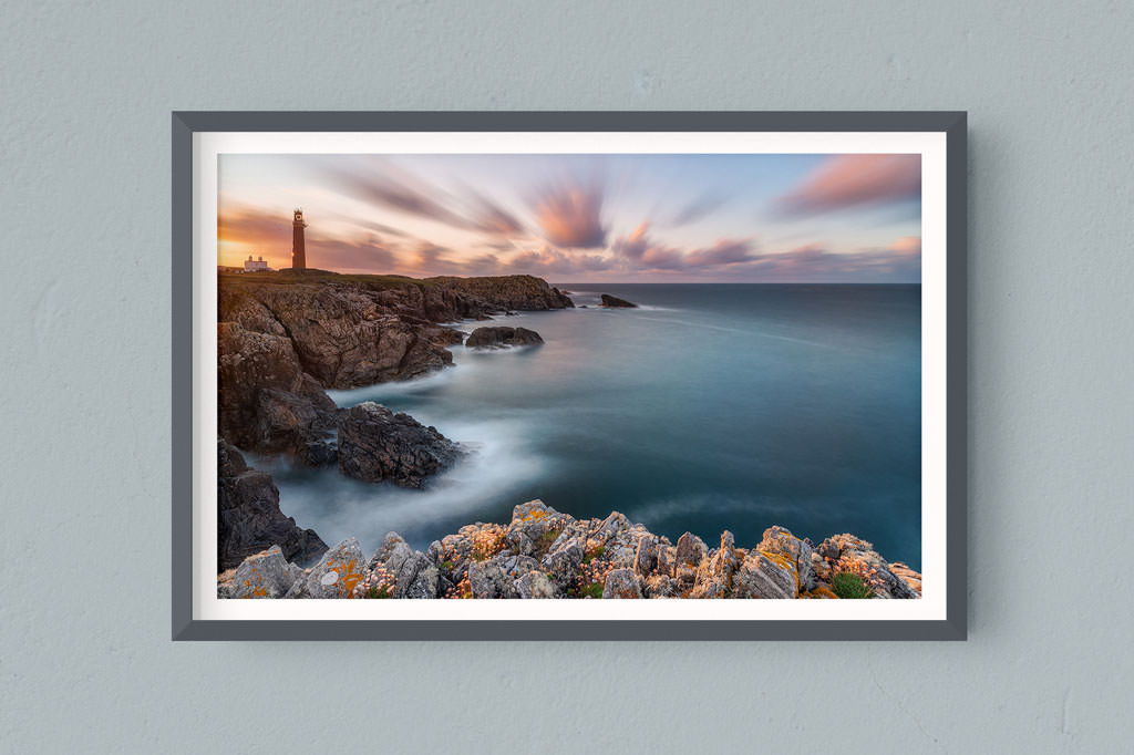 Francesco Gola FineArt Prints Home Interior Design UK Scotland Outer Hebrides Butt Lewiss Long Exposure Seascape Landscape Lighthouse