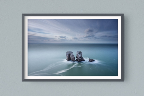 Francesco Gola FineArt Prints Home Interior Design Santander Urros Spain Costa Quebrada Long Exposure Seascape Landscape Cantabria Cold