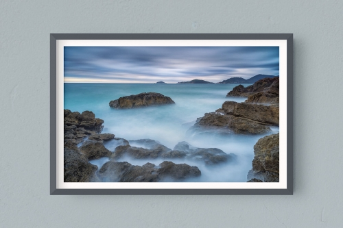Francesco Gola FineArt Prints Home Interior Design Italy Italia Tellaro Lerici Liguria Golfo Poeti Long Exposure Seascape Landscape