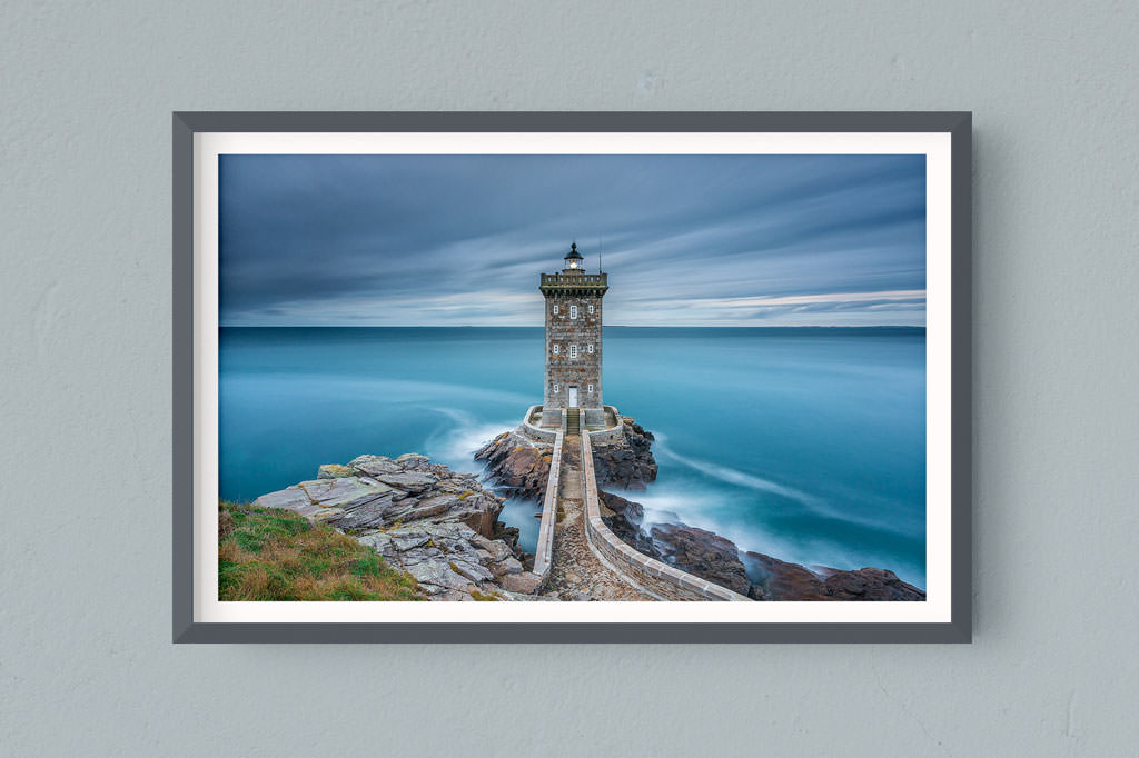 Francesco Gola FineArt Prints Home Interior Design France Brittany Bretagne Kermorvan Lighthouse Long Exposure Seascape Landscape