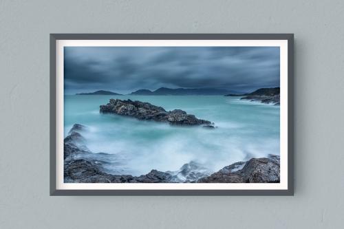 Francesco Gola FineArt Prints Home Interior Design Italy Italia Tellaro Lerici Liguria Golfo Poeti Long Exposure Seascape Landscape Fiascherino Spezia Tempesta Storm