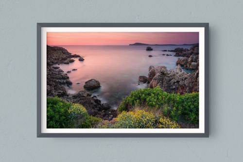 Francesco Gola FineArt Prints Home Interior Design Minorca Menorca Spain Balearis Sunrise Long Exposure Seascape Landscape