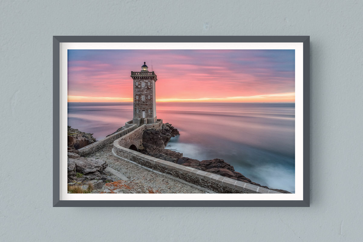 Francesco Gola FineArt Prints Home Interior Design France Conquet Kermorvan Lighthouse Long Exposure Seascape Landscape Bretagne Brittany