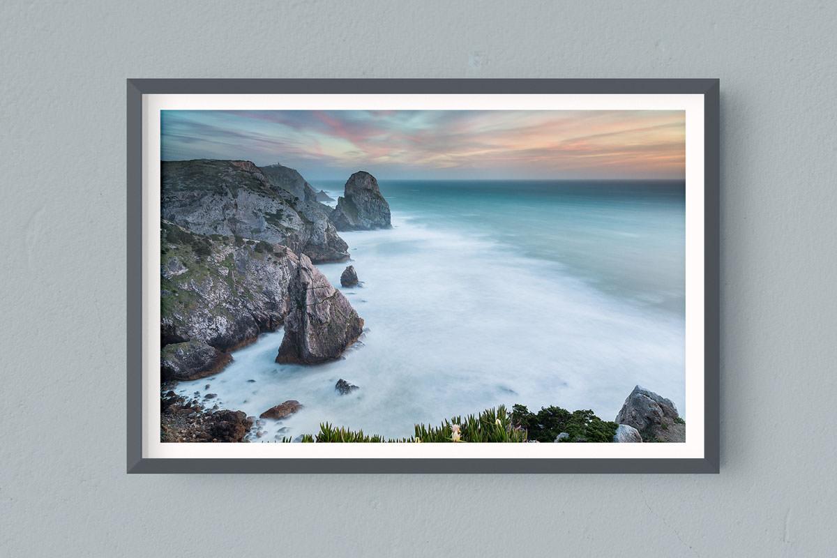 Francesco Gola FineArt Prints Home Interior Design Portugal Lisbon Cabo Roca Sunset Sintra Long Exposure Seascape Landscape