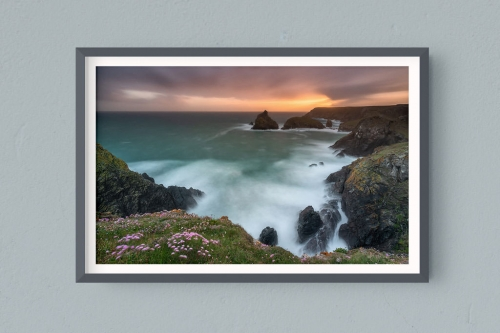 Francesco Gola FineArt Prints Home Interior Design Kynnance Cove UK Cornwall Long Exposure Seascape Landscape