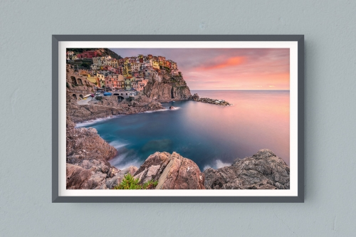 Francesco Gola FineArt Prints Home Interior Design Italy Italia Liguria Cinque Terre Manarola Long Exposure Seascape Landscape