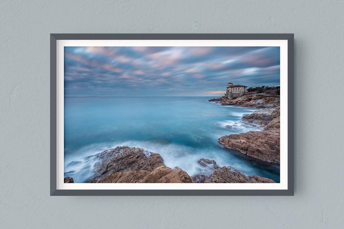 Francesco Gola FineArt Prints Home Interior Design Italy Italia Toscana Castel Boccale Livorno Long Exposure Seascape Landscape