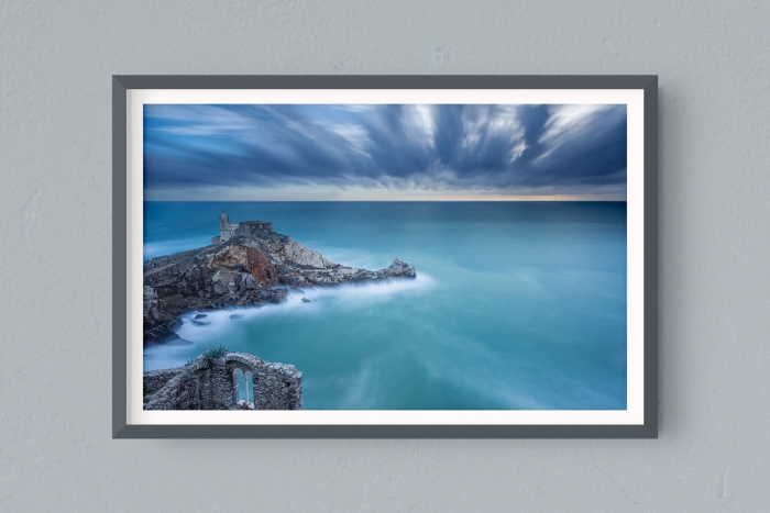 Francesco Gola FineArt Prints Home Interior Design Italy Italia Golfo Poeti Portovenere Porto Venere Long Exposure Seascape Landscape