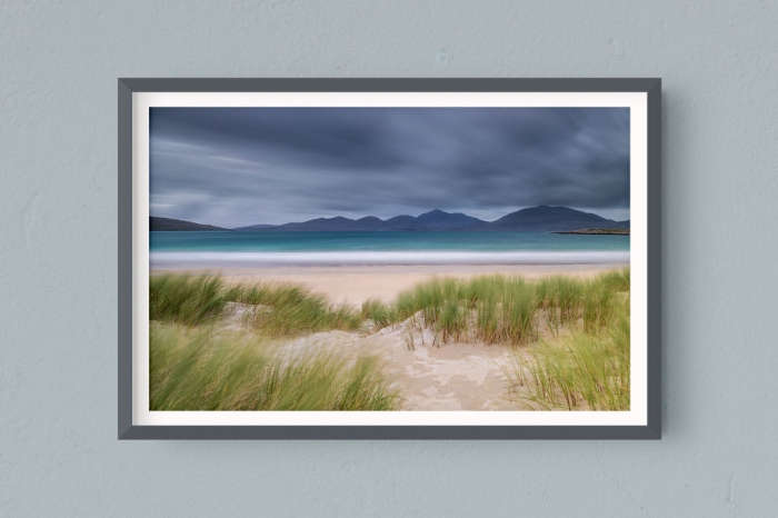 Francesco Gola FineArt Prints Home Interior Design UK Scotland Hebrides Outer Luskentyre Long Exposure Seascape Landscape