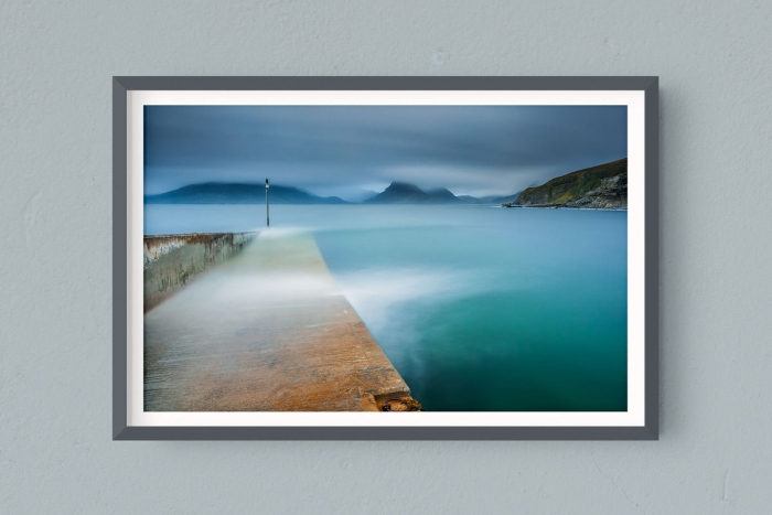 Francesco Gola FineArt Prints Home Interior Design Seascape Landscape Long Exposure Scotland Elgol Pier