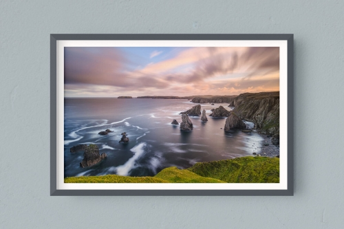 Francesco Gola FineArt Prints Home Interior Design Seascape Landscape Long Exposure Scotland Magersta Outer Hebrides Harris Lewiss Island