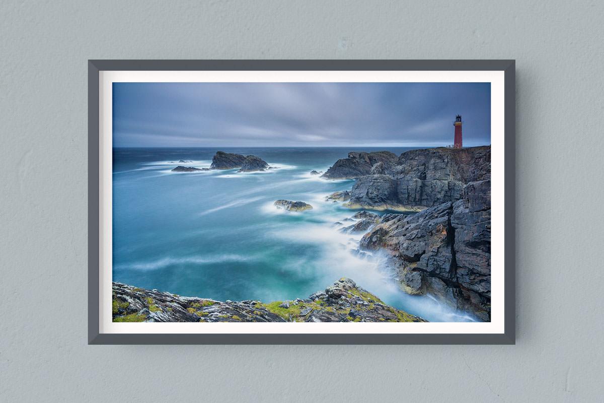 Francesco Gola FineArt Prints Home Interior Design Seascape Landscape Long Exposure Scotland Outer Hebrides Butt Lewiss Cold