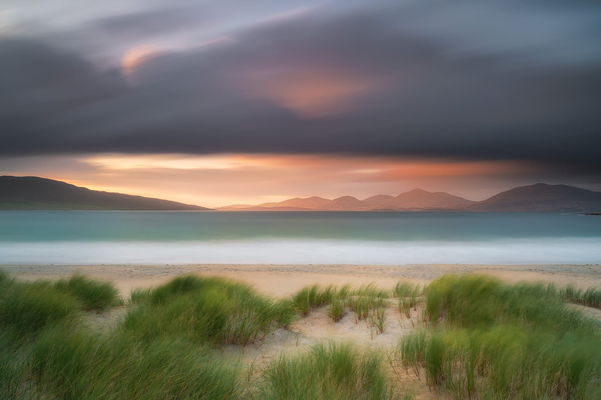 Francesco Gola Fine Art Seascape Landscape Long Exposure Photography UK Scotland Outer Hebrides Luskentyre Isle Harris