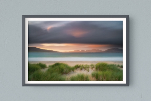 Francesco Gola Seascape Landscape Photography Outer Hebrides Luskentyre Beach Long Exposure Scotland Sunset Epic