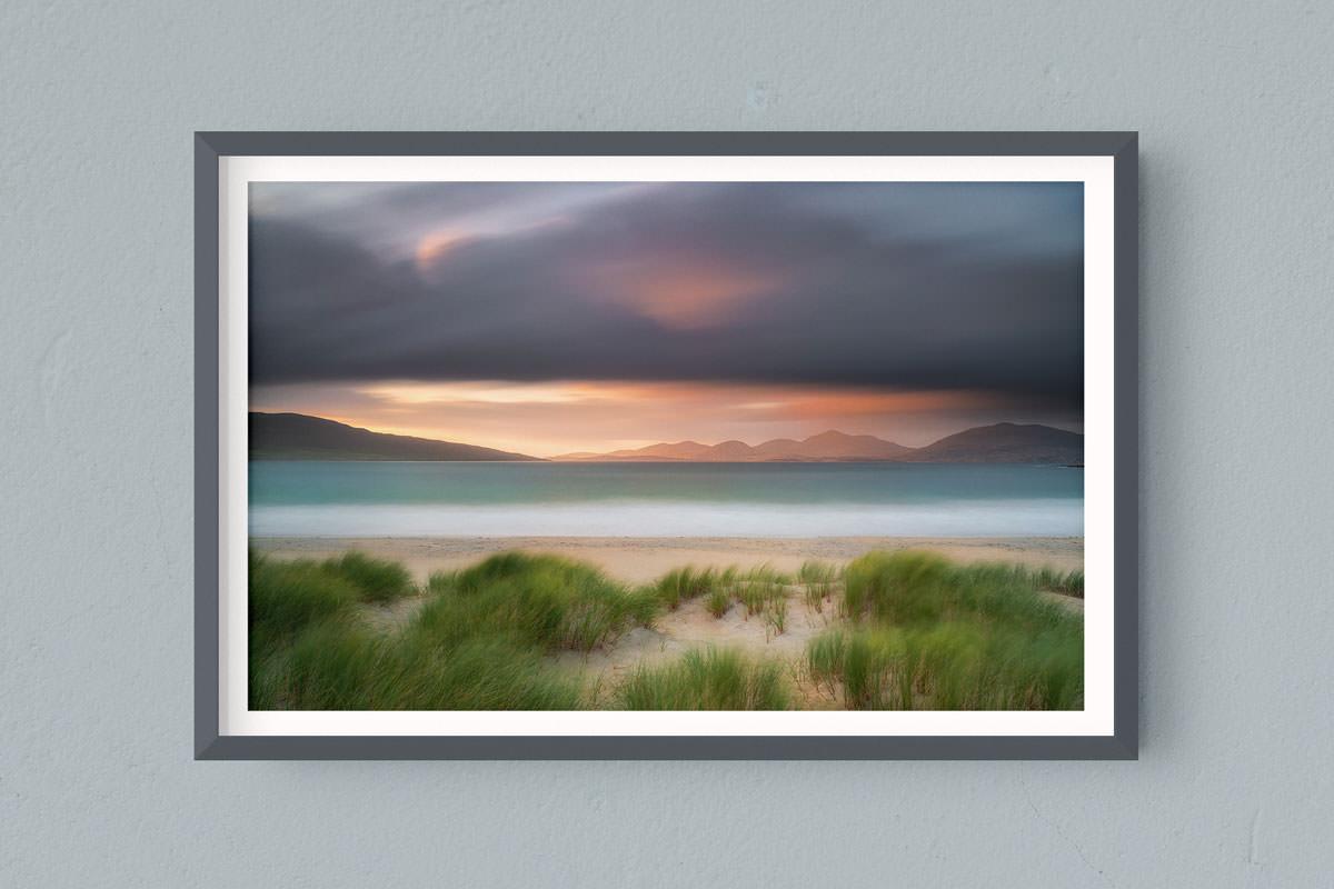 Francesco Gola Seascape Landscape Photography Outer Hebrides Luskentyre Beach Long Exposure Scotland Sunset Epic