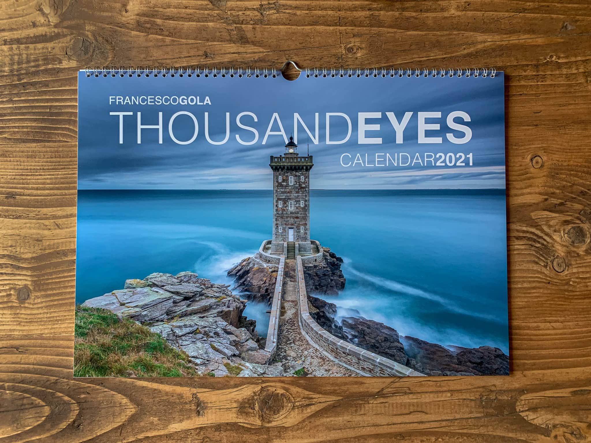 Francesco Gola Seascape FineArt Calendar 2021 Thousand Eyes Lighthouses Detail 1
