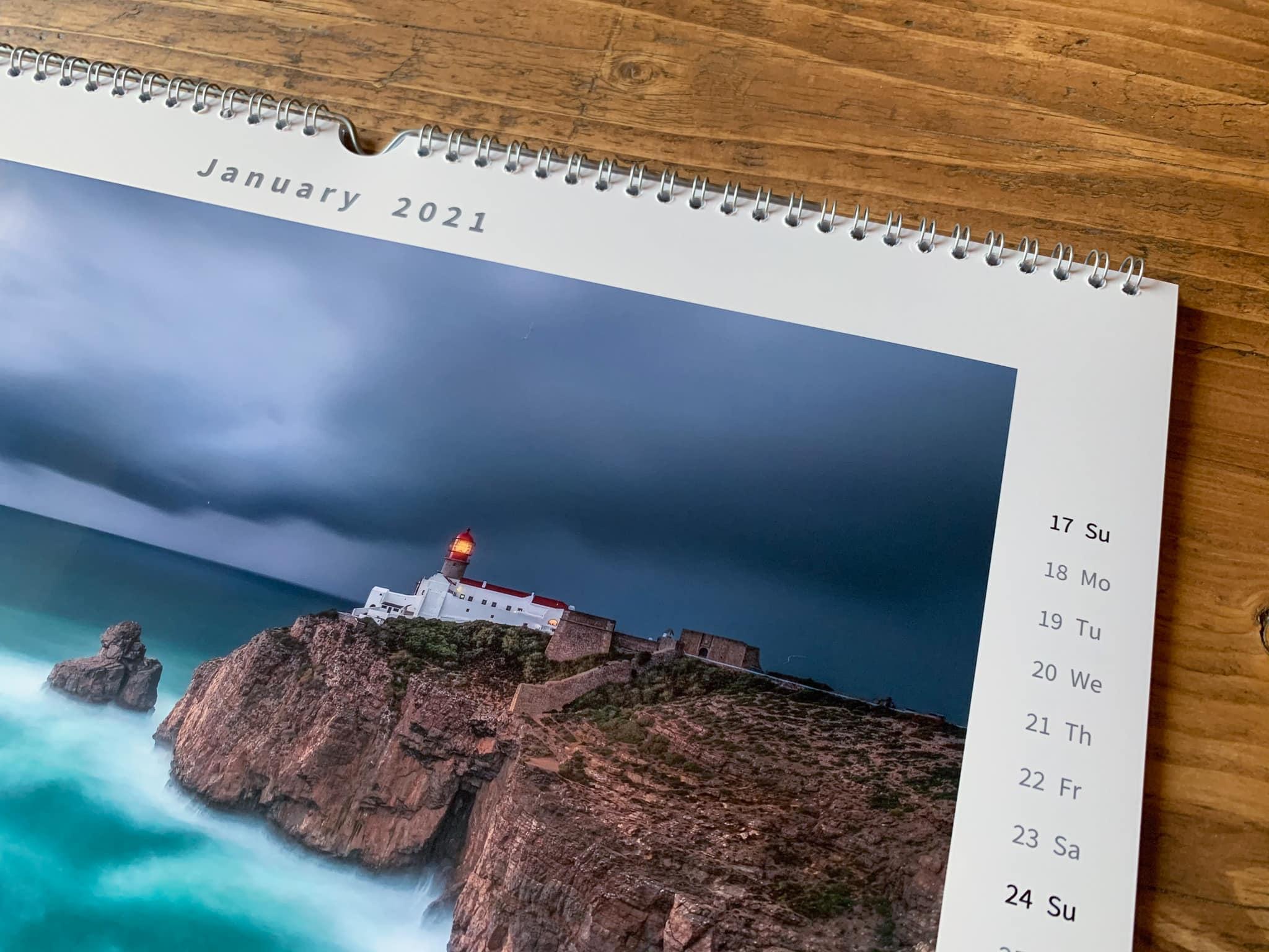 Francesco Gola Seascape FineArt Calendar 2021 Thousand Eyes Lighthouses Detail 2