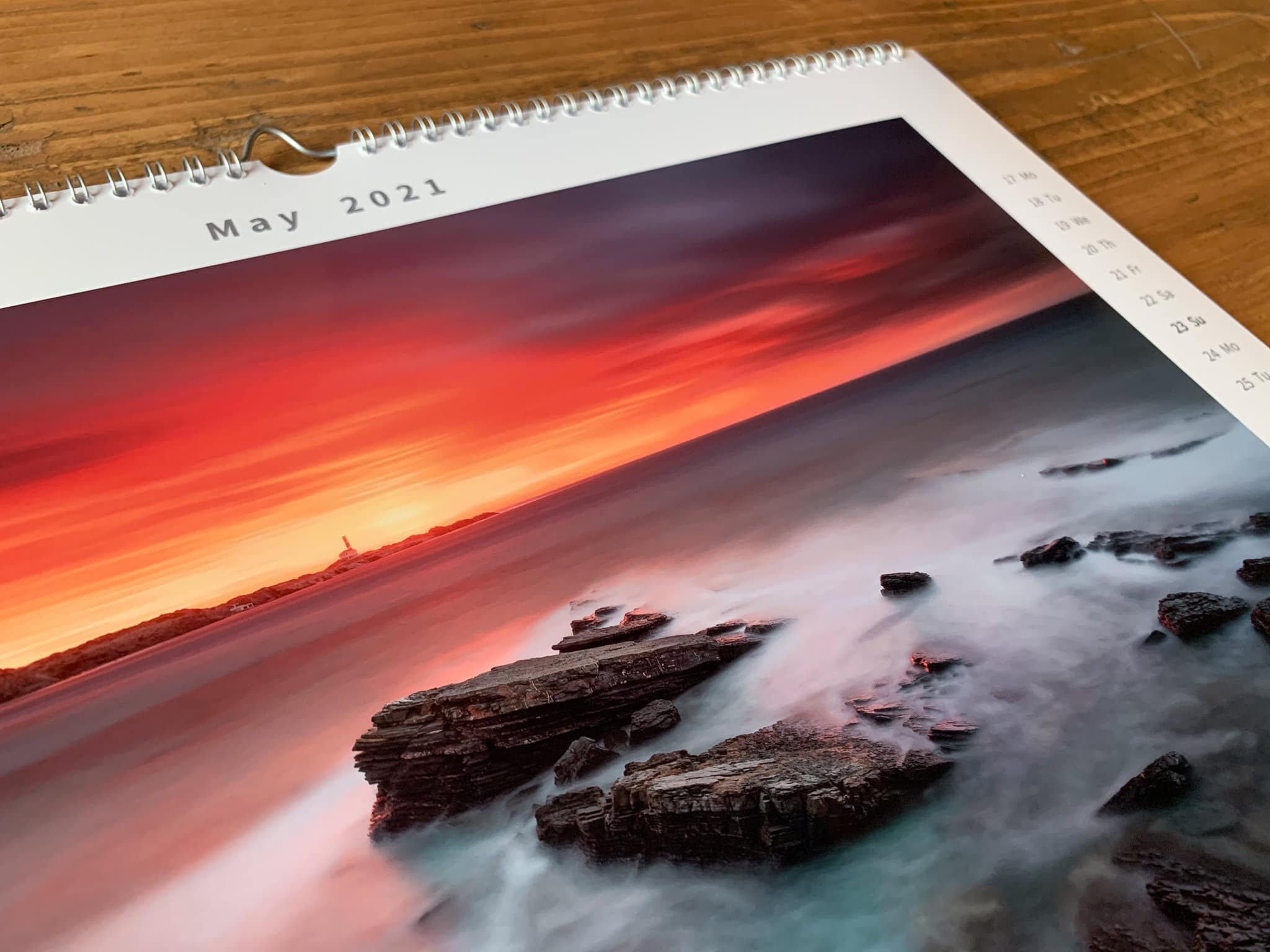 Francesco Gola Seascape FineArt Calendar 2021 Thousand Eyes Lighthouses Detail 3