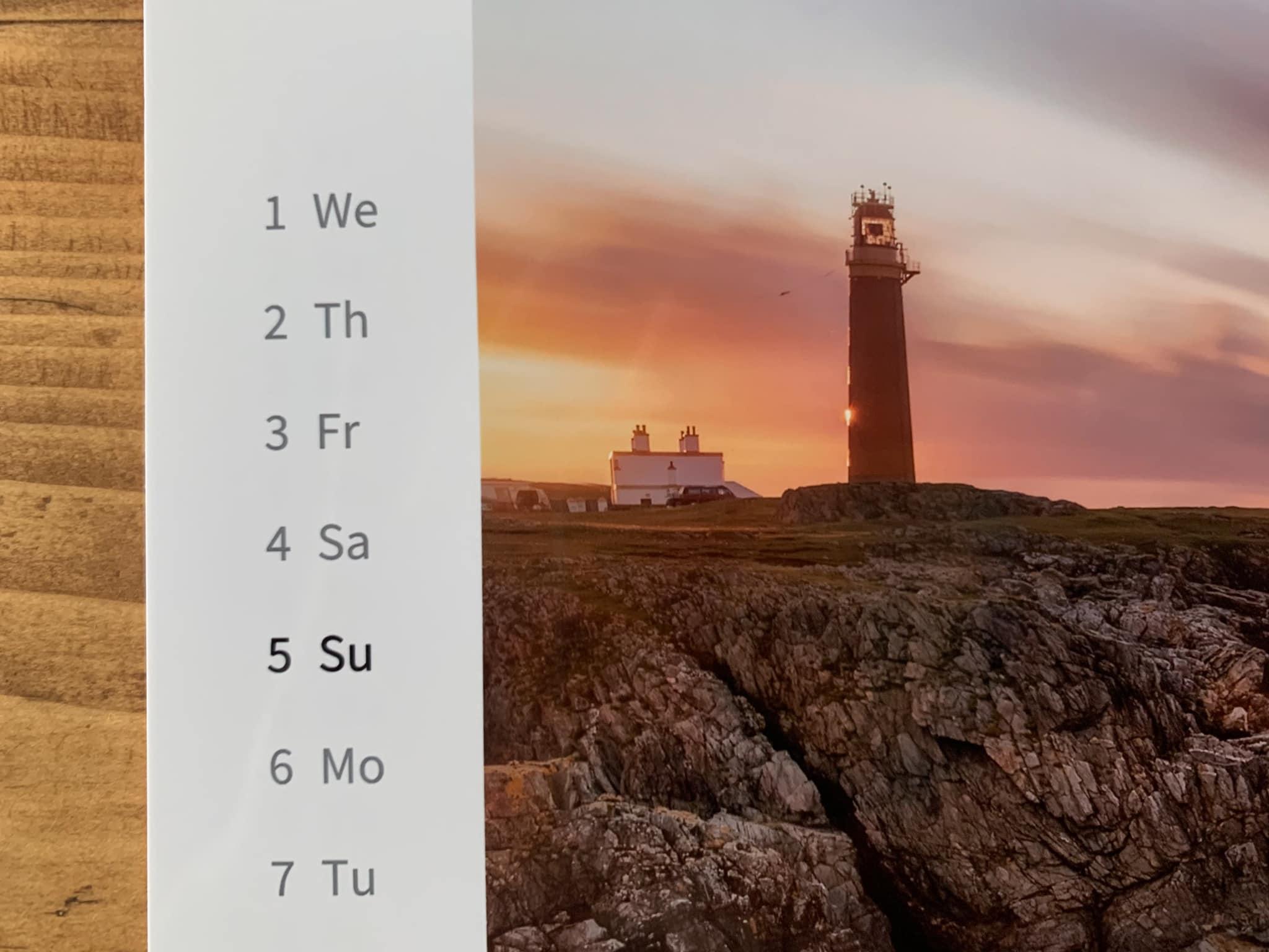 Francesco Gola Seascape FineArt Calendar 2021 Thousand Eyes Lighthouses Detail 5