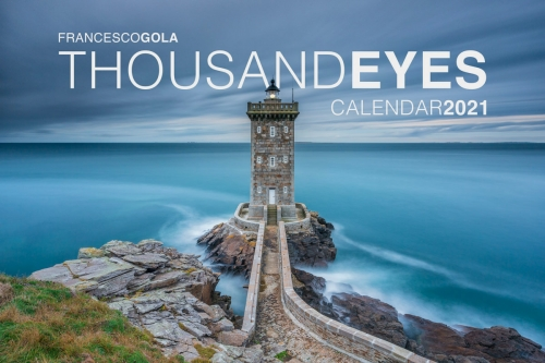 Francesco Gola Seascape FineArt Calendar 2021 Thousand Eyes Lighthouses new