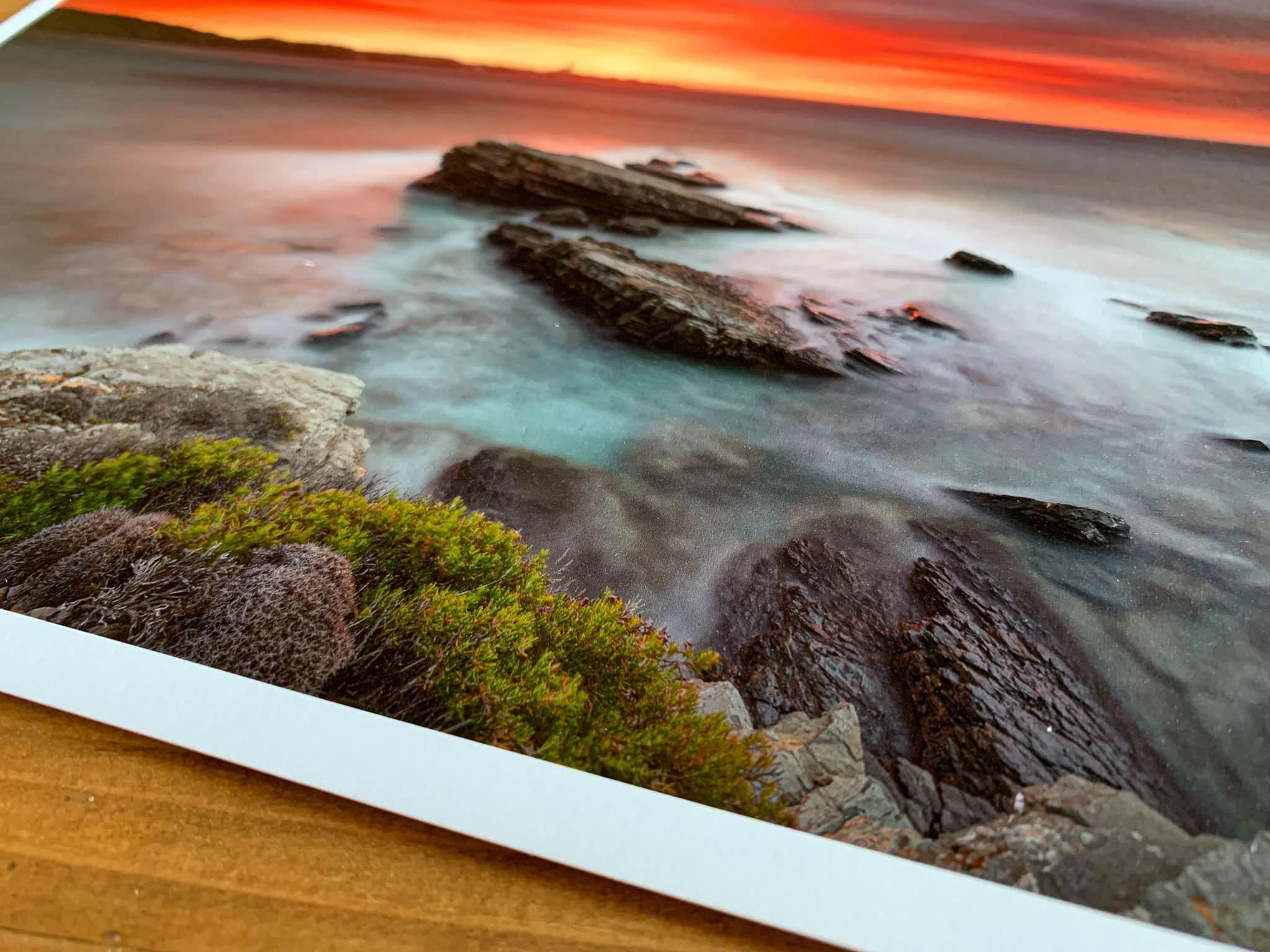 Francesco Gola Seascape Long Exposure Photography Review Best Fine Art Paper Hahnemuhle Hahnemühle 21
