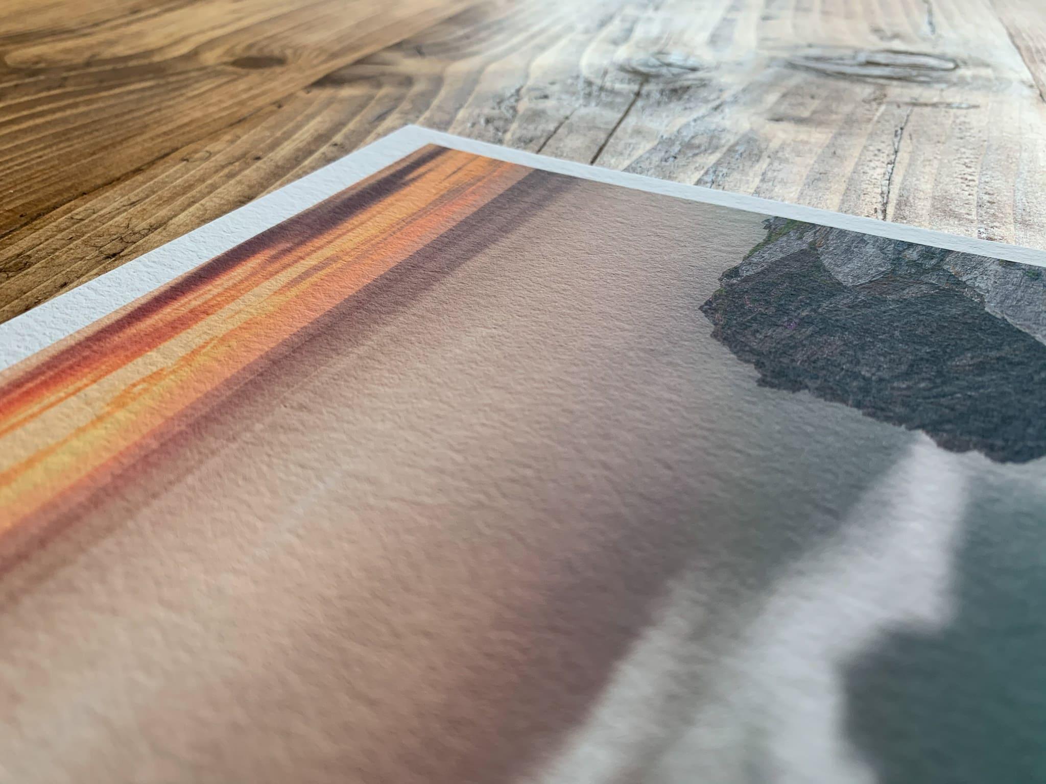 Francesco Gola Seascape Long Exposure Photography Review Best Fine Art Paper Hahnemuhle Hahnemühle 18