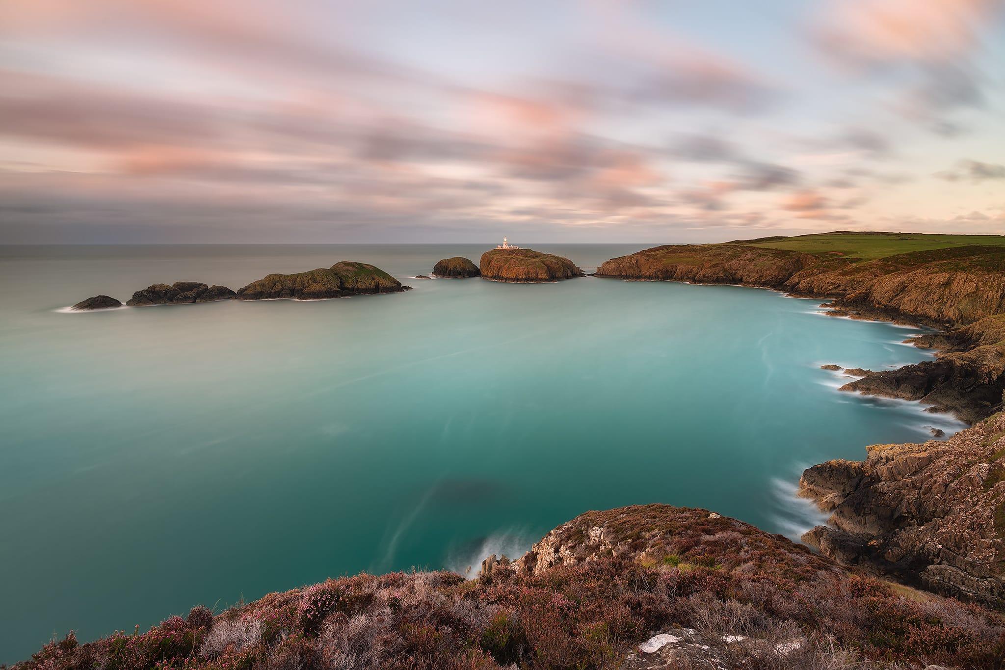 Francesco Gola Seascape Photography Long Exposure UK Wales Strumble Head Lighthouse